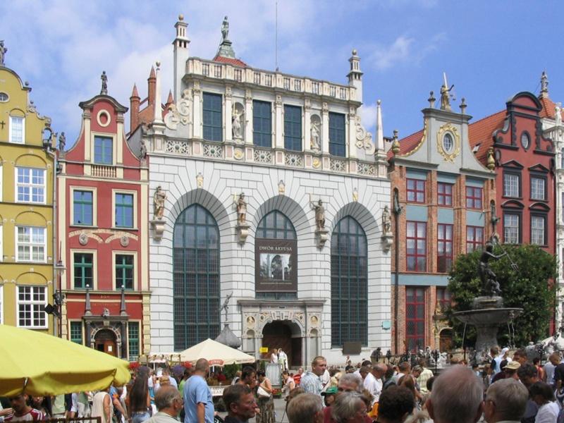 Artus_Court_in_Gdańsk_-_20060730