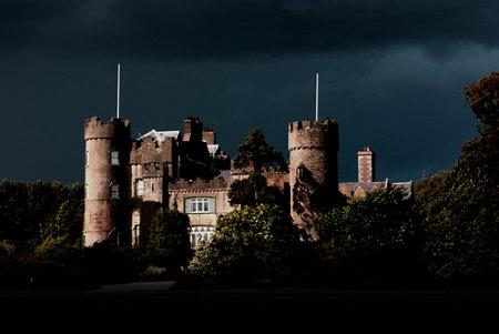 malahide-castle-dark-sky